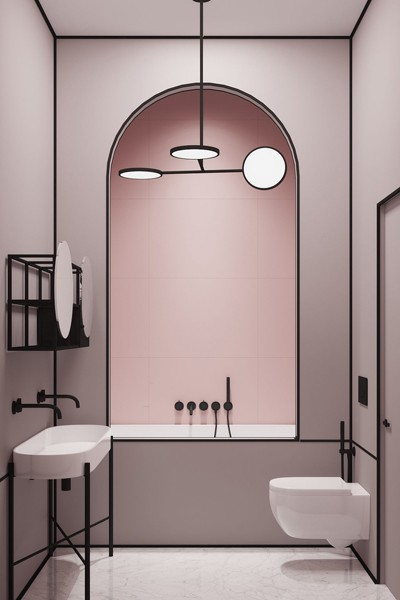 Pink on trend derby showroom
