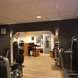 Målning Tenton City Gym Målarn i Norrland AB