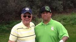 Joe Nejo, Pala with Bill Thorpe