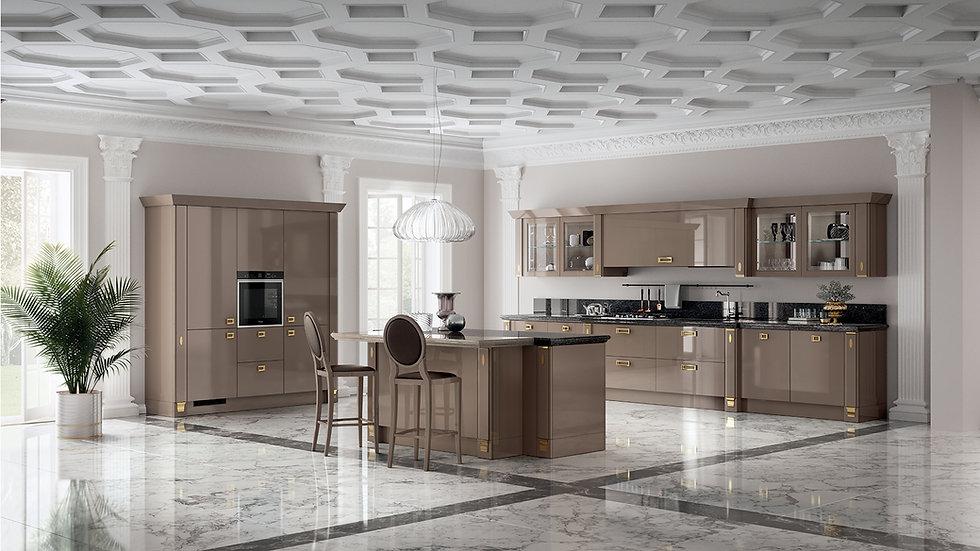 Итальянская кухня Exclusiva-7 фабрики Scavolini