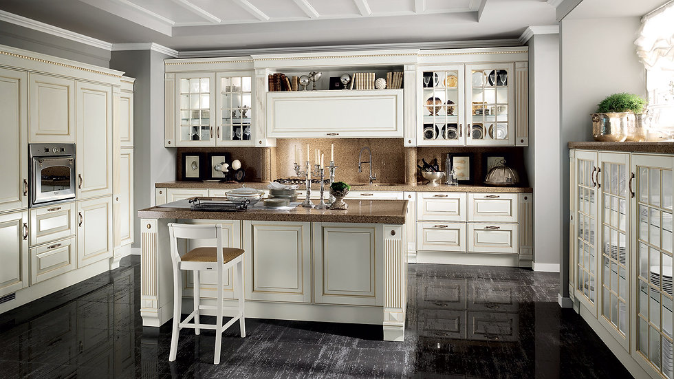 Кухни Scavolini модель Baltimora