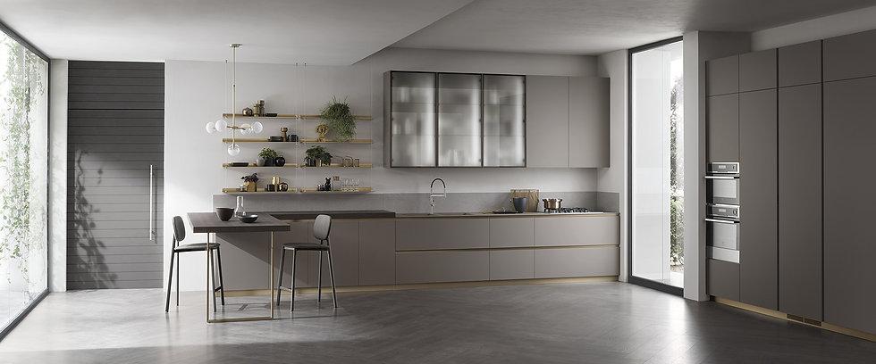 Итальянская кухня De Linea-5 фабрики Scavolini