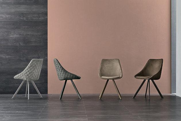 Итальянский обеденный стул Bilbao в современном стиле от фабрики Target Point