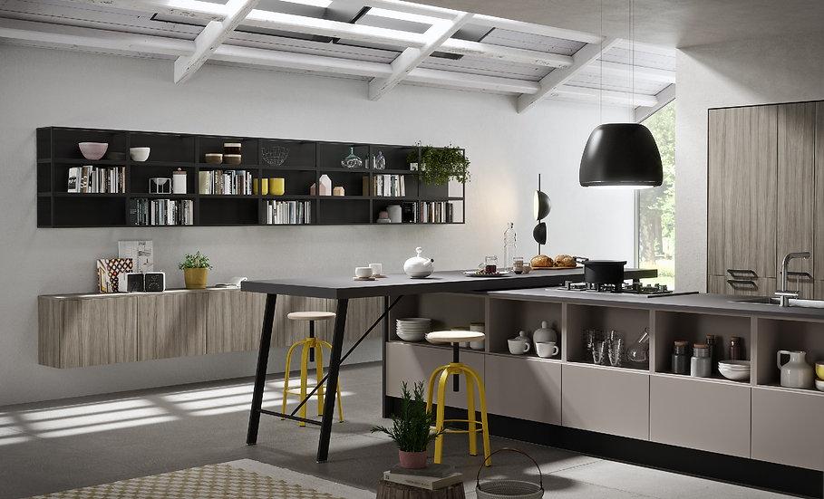 Кухня Infinity фабрики Record Cucine