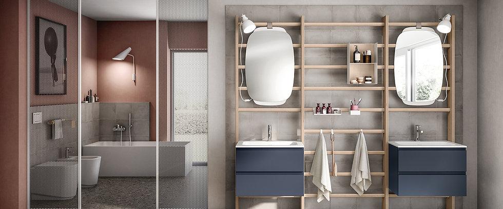 Ванная комната Gym Space от Скаволини