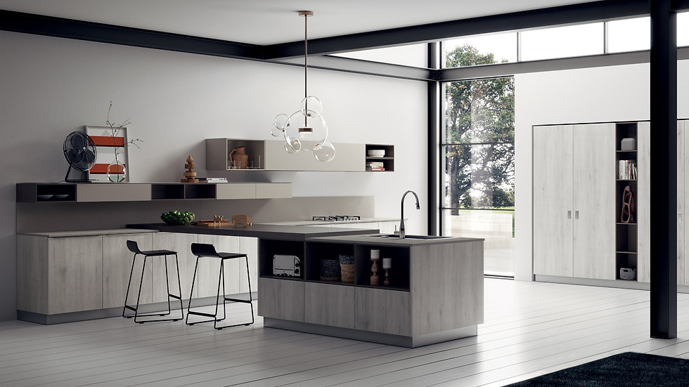 Прекрасное стилистическое решение для поистине эксклюзивных помещений представлено противопоставлением поверхностей различной