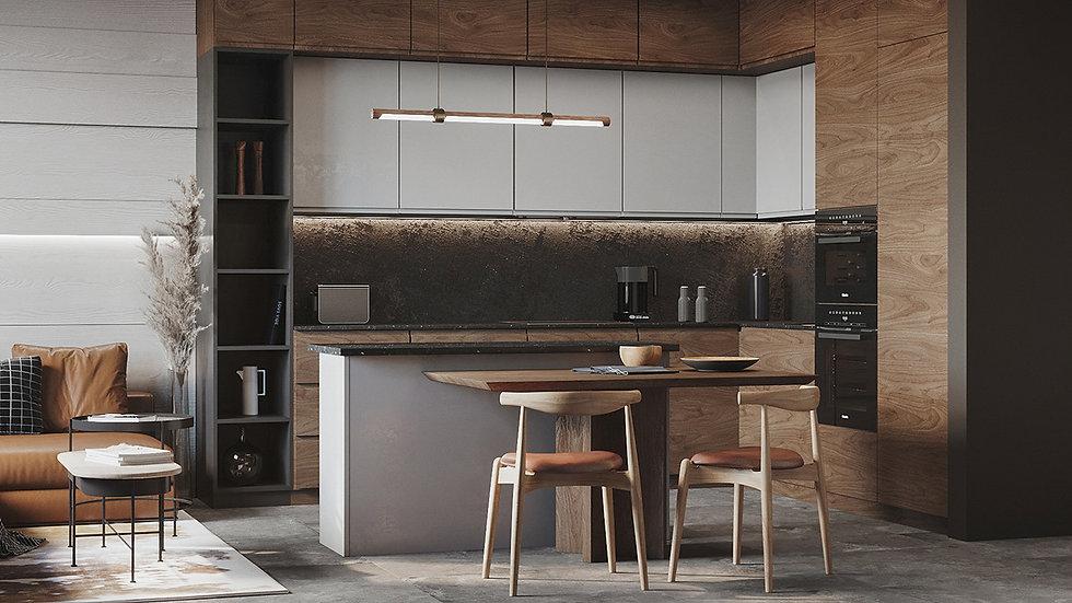 Проект кухни (№3) Scaovlini