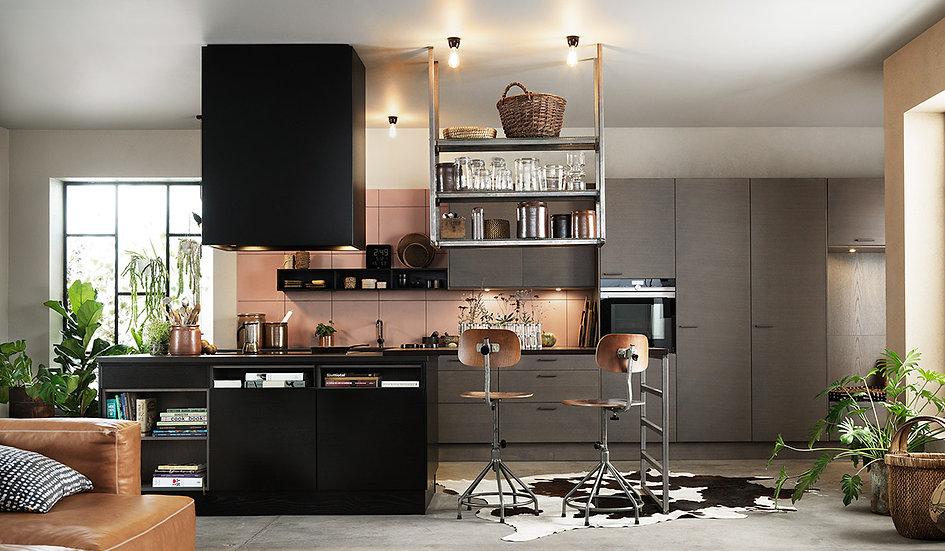 Итальянская кухня Xaribel в современном стиле от Берлони