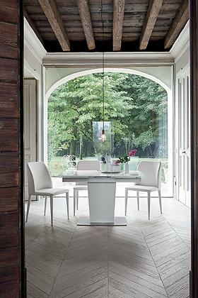 Итальянский обеденный стол Copernico 120 в современном стиле от фабрики Target Point