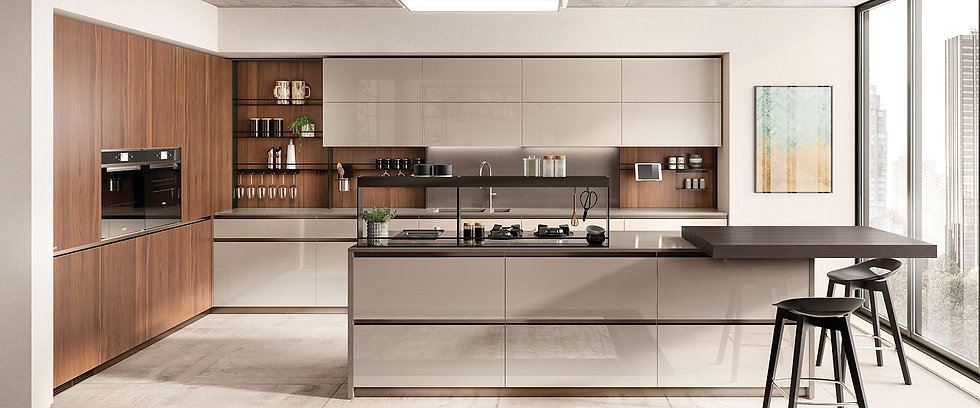 Модель кухни Бокси от фабрики Скаволини