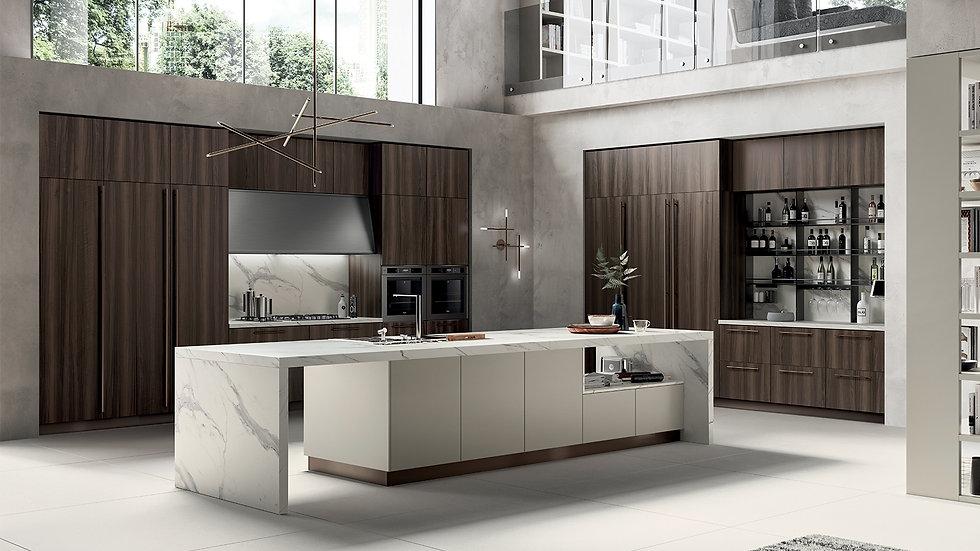 Отделка argilla для вашей стильной кухни.