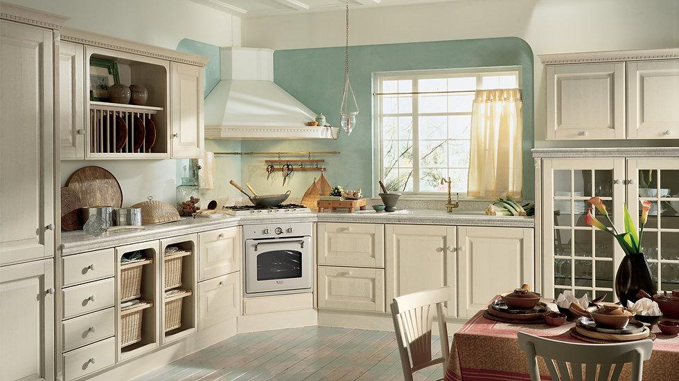 Итальянская кухня Baltimora-4 фабрики Scavolini