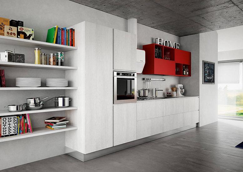 Итальянская кухня в современном стиле Brera Young от фабрики Berloni