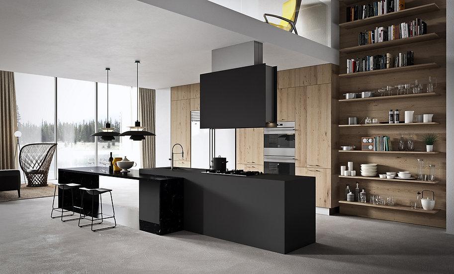 Кухня Ideal-1 фабрики Record Cucine