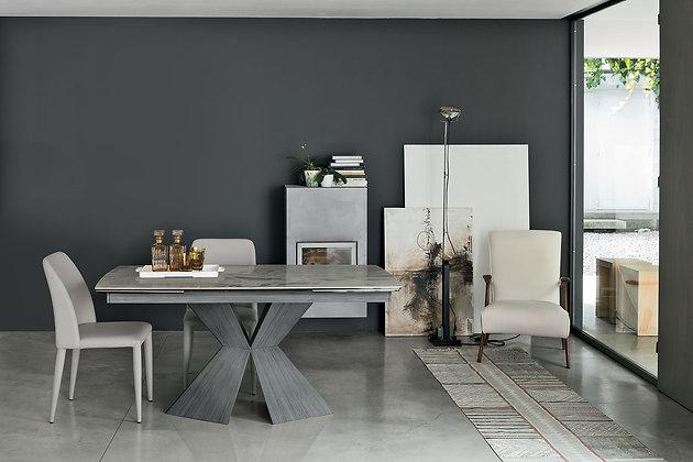 Итальянский обеденный стол Poseidone 160 в современном стиле от фабрики Target Point