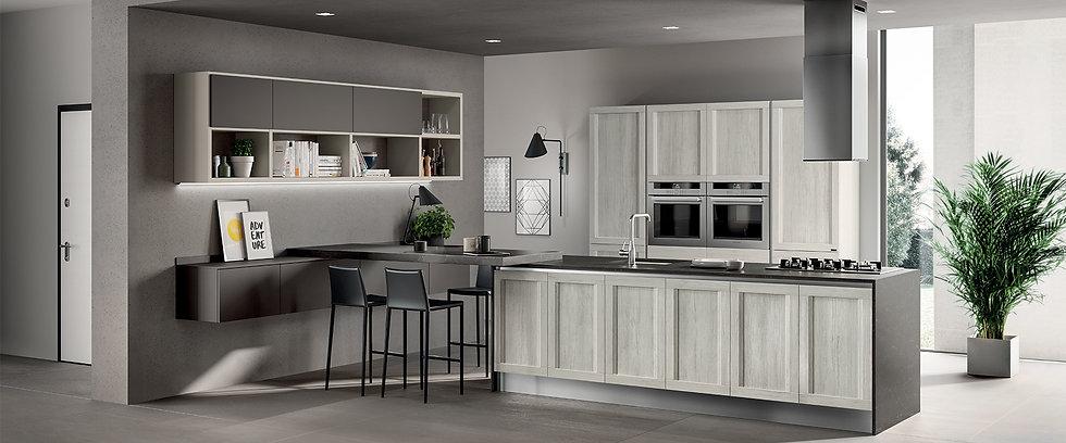 Сочетание превосходного дизайна и функциональности на кухне.