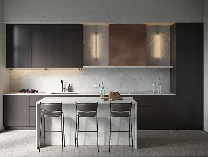 Итальянская кухня премиум - класса Brigella в современном стиле