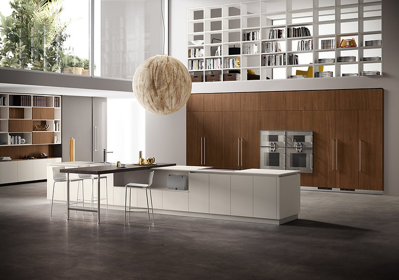 Итальянская кухня Angelo в современном стиле от Берлони