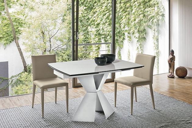 Итальянский обеденный стол Poseidone 120 в современном стиле от фабрики Target Point