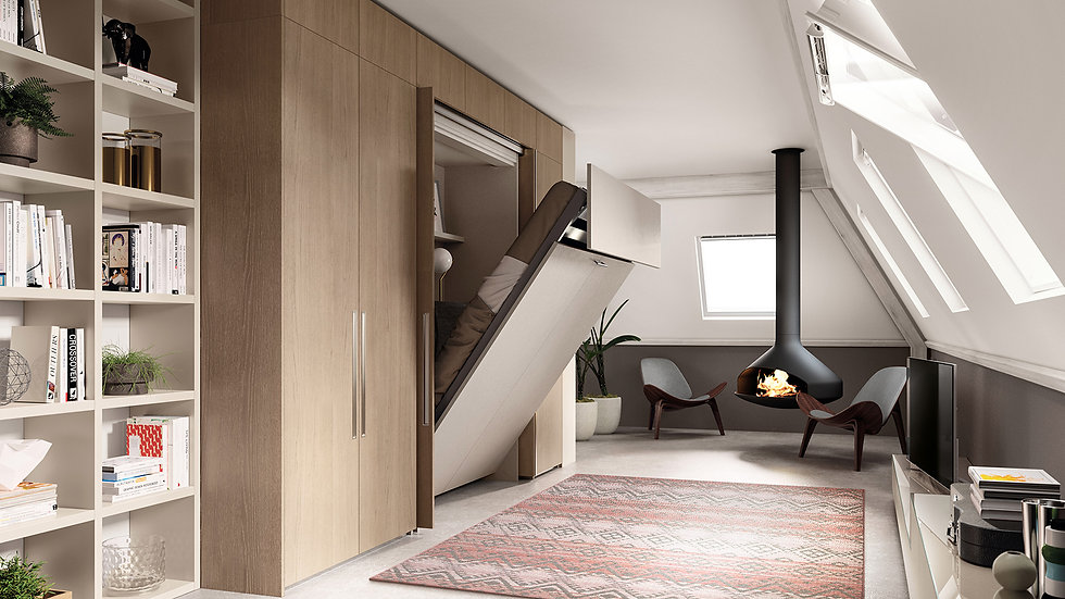 Модульная мебель BoxLife от Scavolini