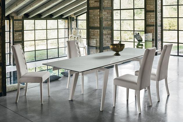 Итальянский обеденный стол Libeccio 180 в современном стиле от фабрики Target Point