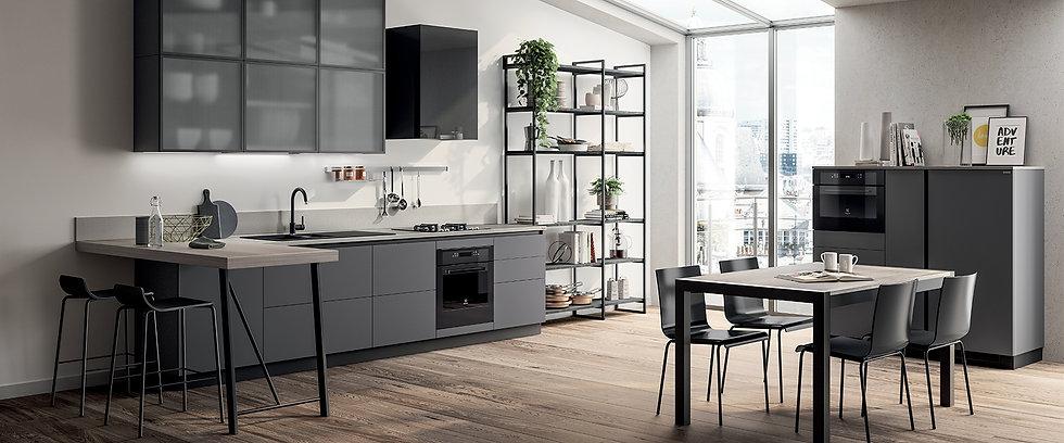 Элегантный дизайн для персонализации кухни.Приятная атмосфера на кухне и удовольствие от ее ежедневного использования кроется