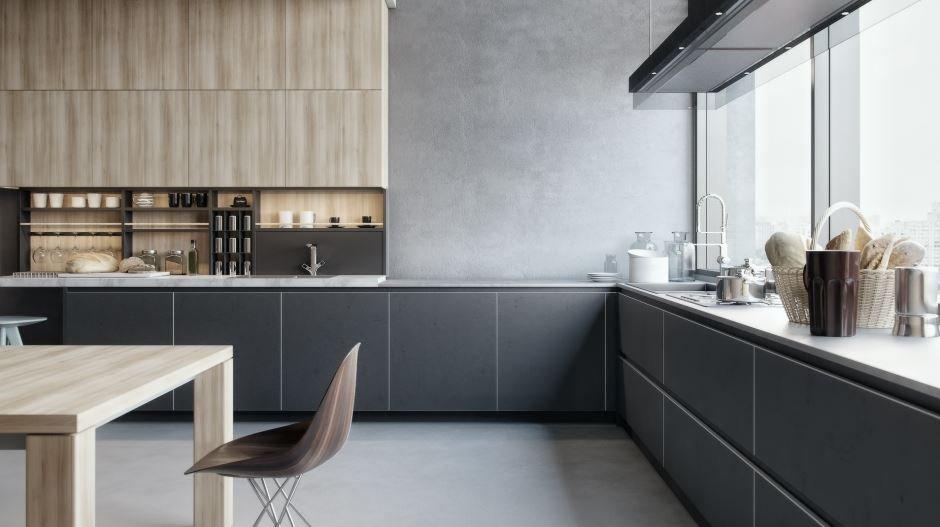 Итальянская кухня Garko в современном стиле от Берлони