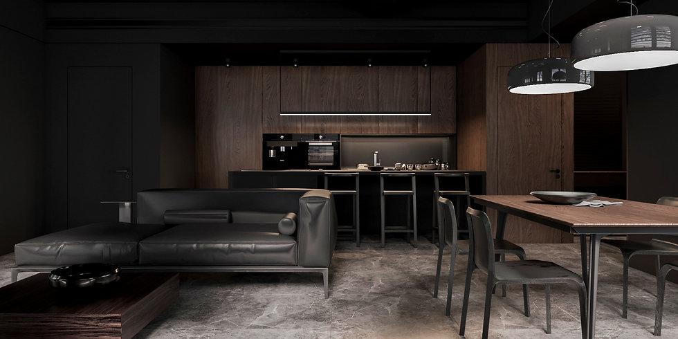 Итальянская кухня B50 Zeus в современном стиле от Berloni