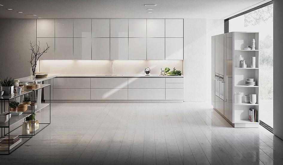 Итальянская кухня B50 Freeze в стиле модерн от Berloni