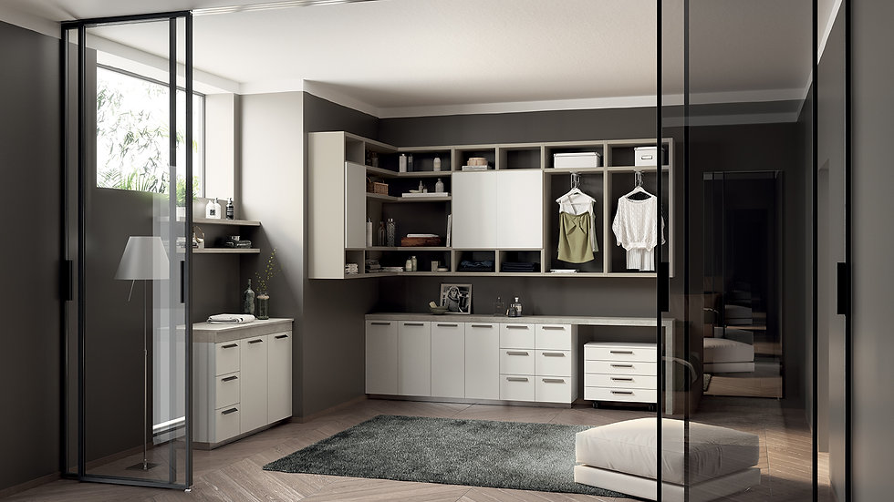 Ванная Laundry Space от Scavolini
