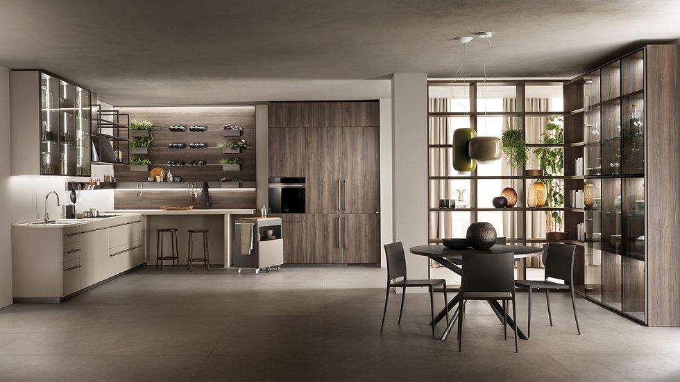 """К вашим услугам многочисленные """"ингредиенты"""", позволяющие создать индивидуальный, """"вкусный"""" и комфортный интерьер кухни, где"""