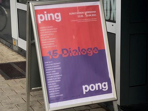 Ausstellung Ping Pong verlängert bis 19.6.2021