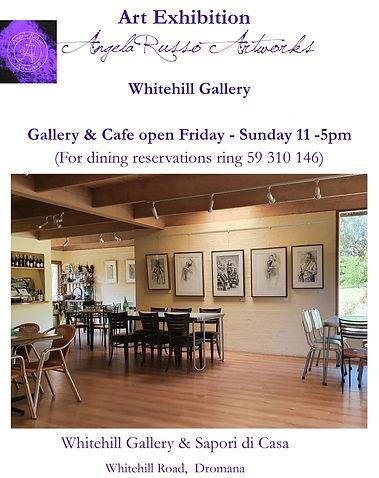 Angela Russo(C) Art Exhibition Whitehill