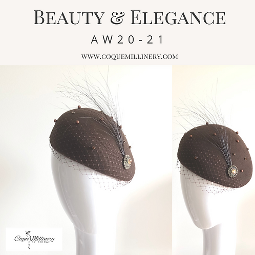 Sydney Beret (Chocolate Brown)