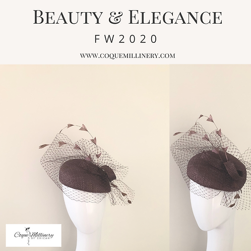 Moe Beret (chocolate brown)