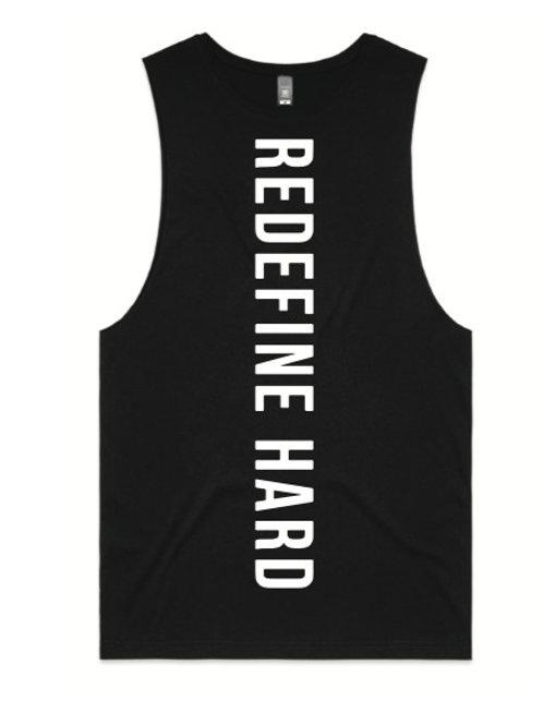 Women's REDEFINE HARD Workout Tank - Black