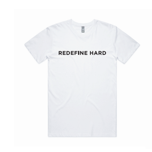 Women's REDEFINE HARD T-Shirt -White