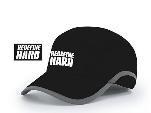 REDEFINE HARD Runner Hat - Black