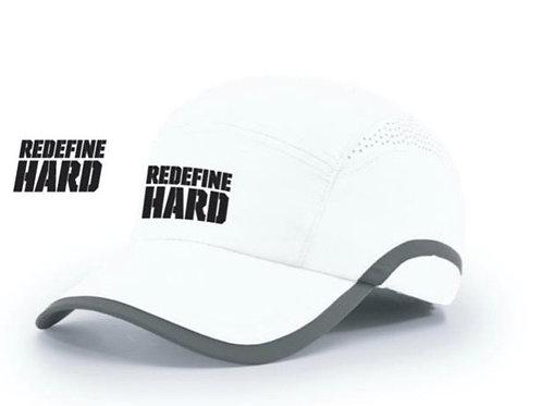 REDEFINE HARD Runner Hat -White
