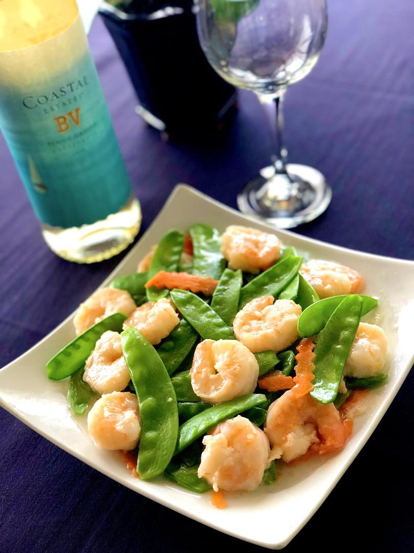 Shrimp Snow Peas