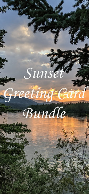 Sunset Greeting Card Bundle