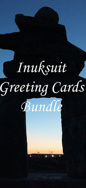 Inuksuit Greeting Card Bundle