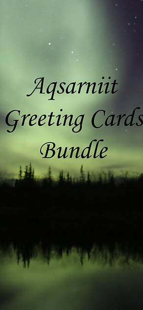 Aqsarniit Greeting Card Bundle 1