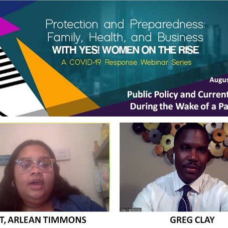 YES! Women On The RISE, 2020 Interview