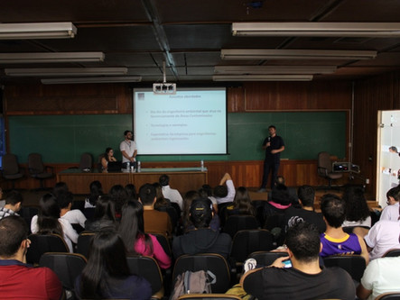 Primeiro Encontro de Engenharia Ambiental da POLI conta com a presença de engenheiros da ConAm
