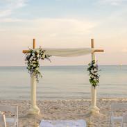 Aisle for a beach wedding at sunset.jpg
