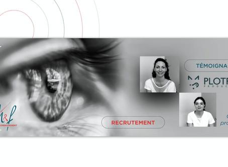 Témoignage de PLOTFOX sur son expérience client d'accompagnement au recrutement par H&F