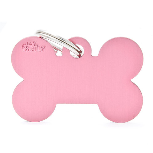 My Family Tags - Large Bone In Several Colours