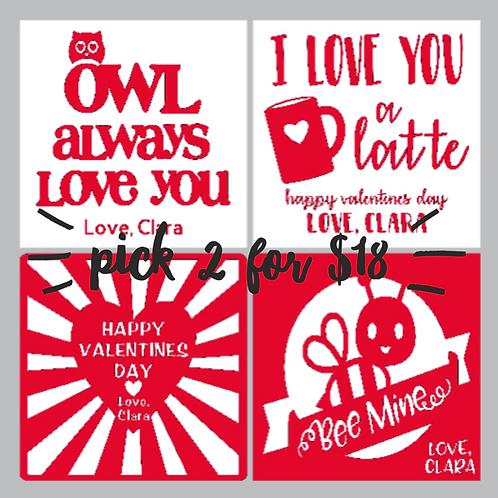 Kids Valentines Day Kits