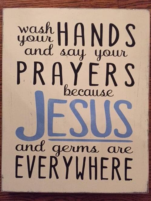 Jesus & Germs